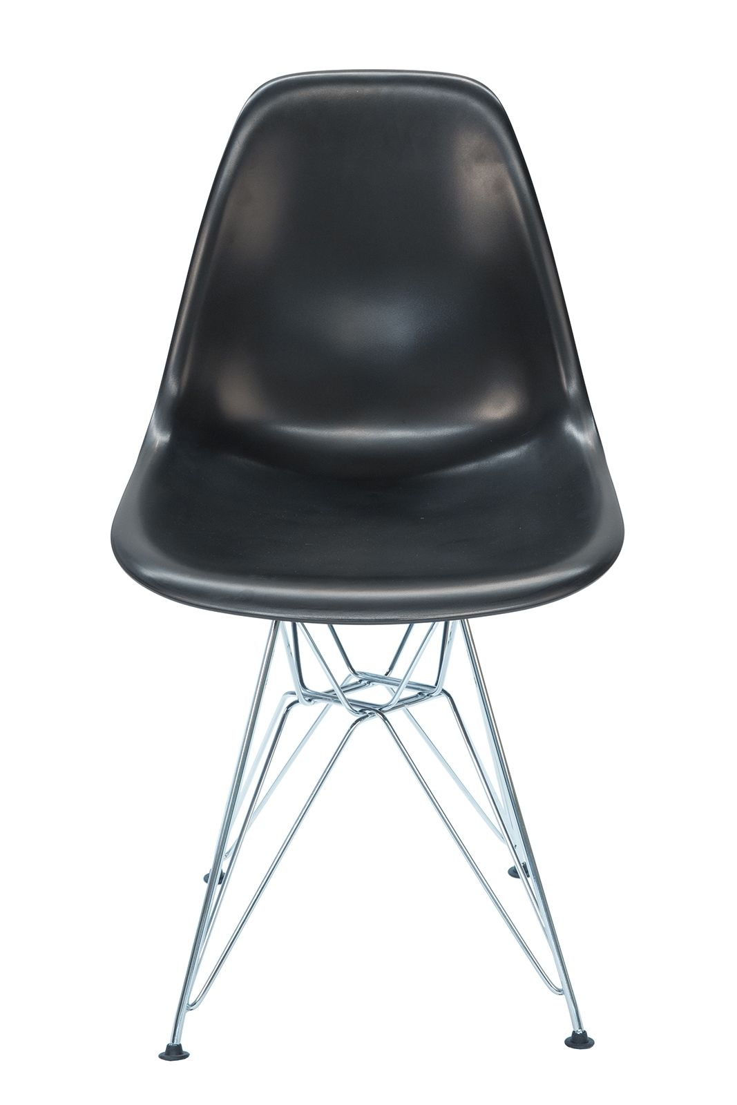 Replica Eames DSR Eiffel Chair & Chrome Legs | Black