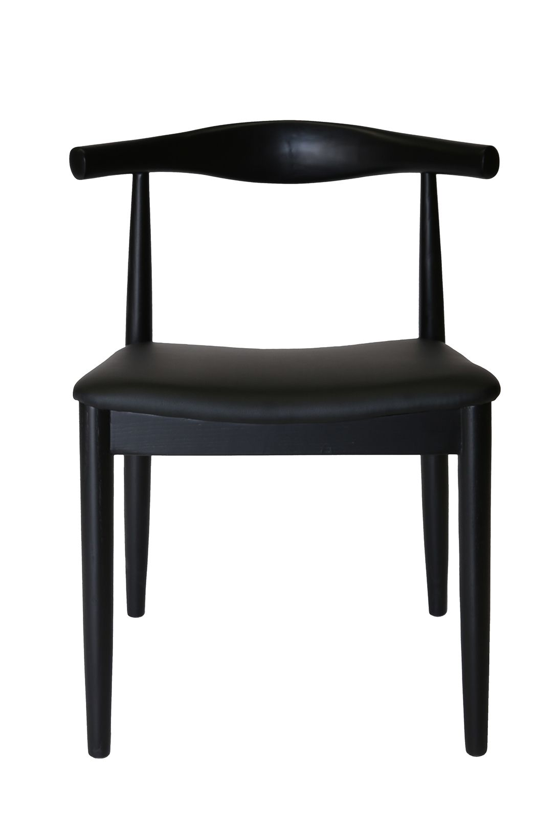 Replica Hans Wegner Elbow Chair CH20 | Black