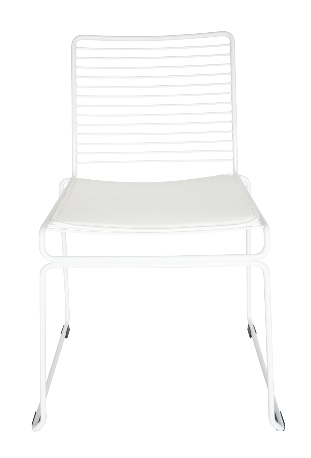 Xilo Bend Wire Chair | White