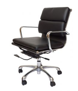 Eames Inspired Low Back Soft Pad Management Office Chair