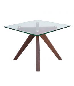 Amber Collection | Glass Side Table