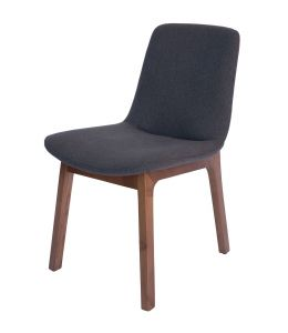 Cozy Dining Chair | Walnut Legs