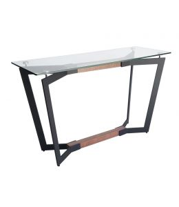 Delta Collection | Glass Console Table