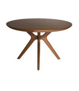 Doreen Collection | Wood Round Dining Table | 120cm