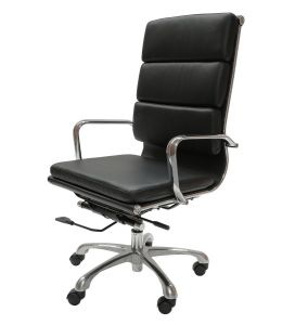 Eames Inspired High Back Soft Pad Executive Office Chair