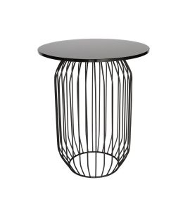 Kaya Collection | Round Glass Side Table