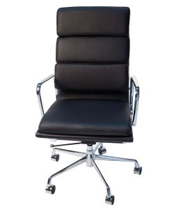 Replica Eames High Back Soft Pad Executive Office Chair | Black