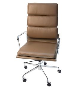 Replica Eames High Back Soft Pad Executive Office Chair | Brown