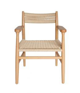 Replica Hans Wegner CH37 Armchair | Natural