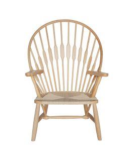 Replica Hans Wegner PP550 Peacock Chair | Natural
