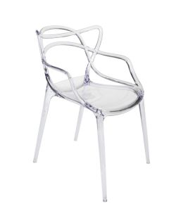 Replica Philippe Starck Masters Chair | Clear Transparent