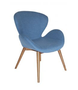 Replica Arne Jacobsen Swan Chair | Walnut Legs