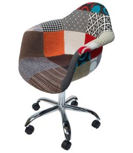 Replica Eames DAW / DAR Desk Chair | Fabric Seat