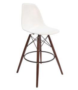 Replica Eames DSW Bar / Kitchen Stool | Walnut Legs