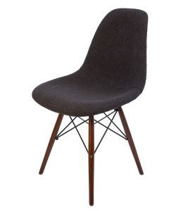 Replica Eames DSW Eiffel Chair | Fabric Seat | Walnut Legs