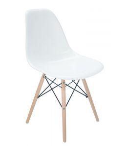 Replica Eames DSW Eiffel Chair | Natural Wood Legs