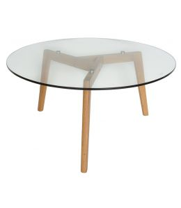 Stad Round Coffee Table | Natural