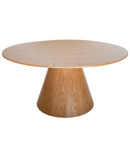 Theo Round Wood Dining Table | 150cm