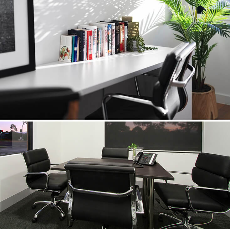 Eames Inspired Low Back Soft Pad Management Desk / Office Chair