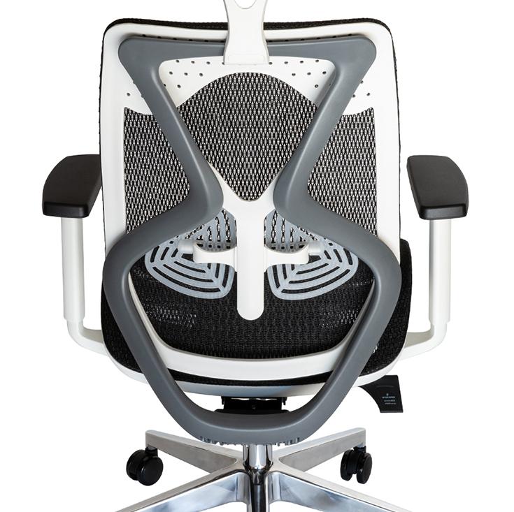Ergomesh Ergonomic Japanese Mesh Desk / Office Chair | Black, White & Grey