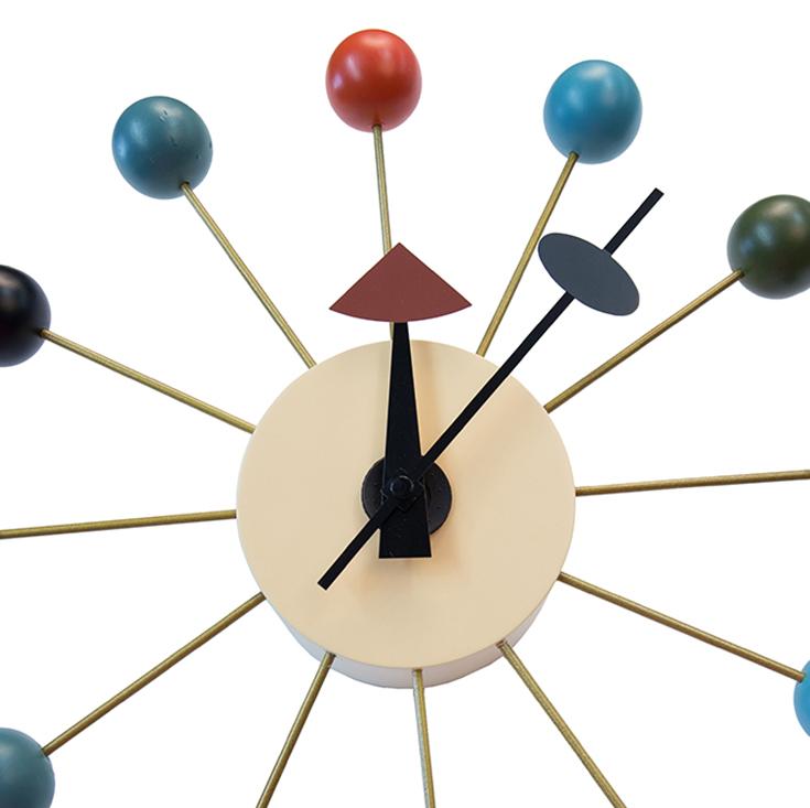 Replica George Nelson Ball Clock   Multi Coloured