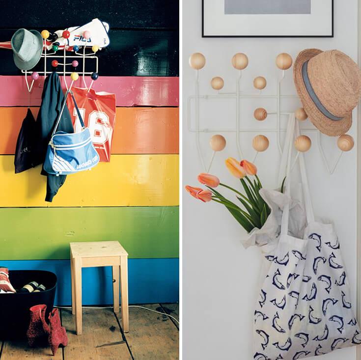 Replica Eames Hanger Retro Hang It All | Multicoloured