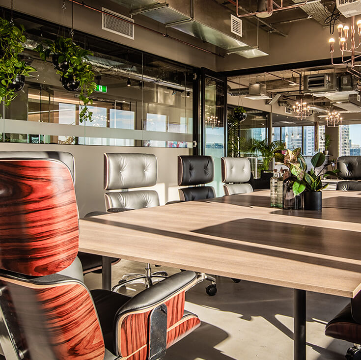 Replica Eames High Back Executive Desk / Office Chair