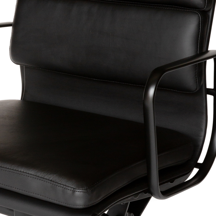Replica Eames High Back Soft Pad Office Chair | All Black